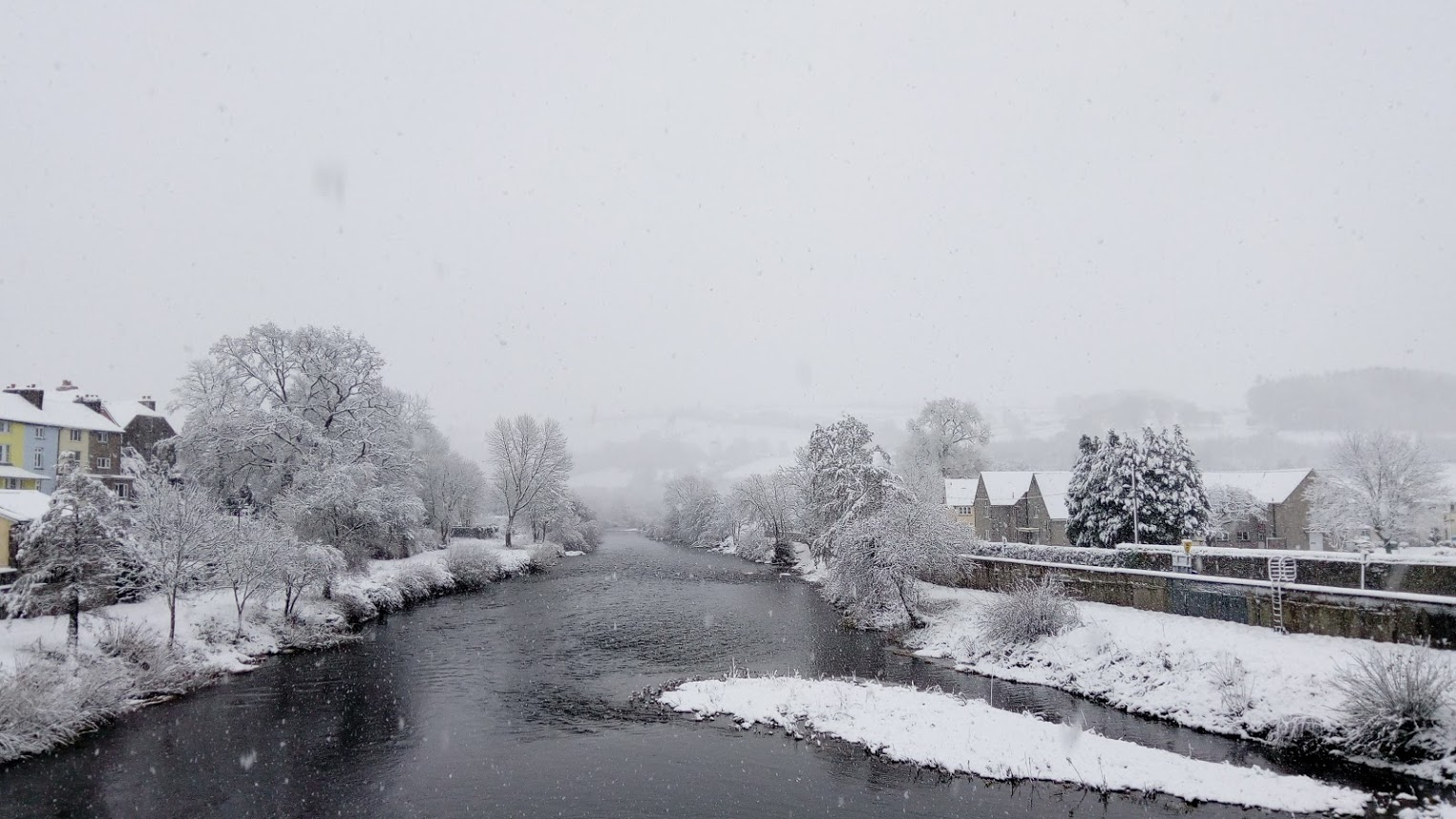 Brecon in the snow